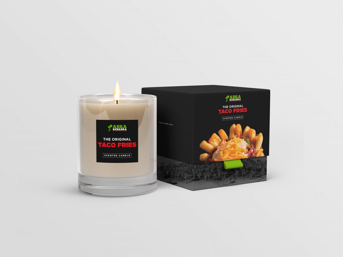 Abrakebabra Taco Fries Scented Candle