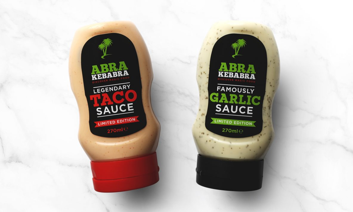 Abrakebabra Magic Sauce Range