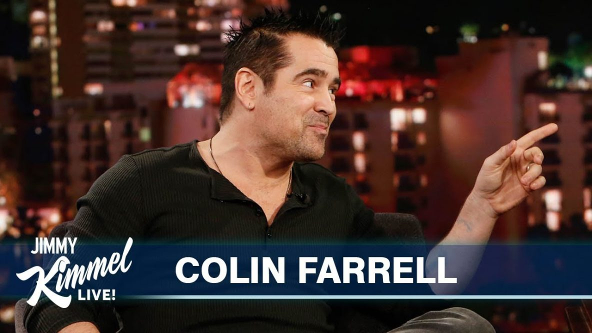 Colin Farrell's Abrakebabra Black Card on Jimmy Kimmel