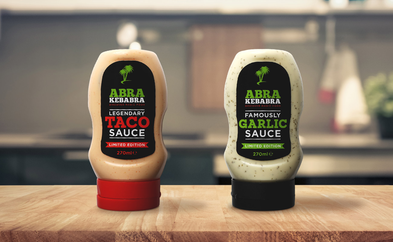 Abrakebabra Magic Sauces